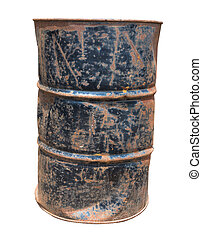 oil barrels Old