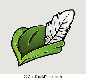 Robin Hood Cap Vector