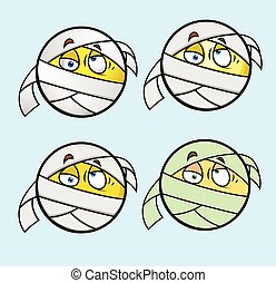 Bandage Face Emoticon - Bandage Face Emoji Emoticon...