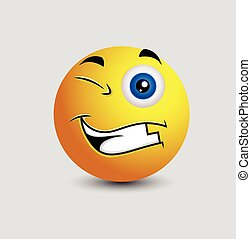 Cheerful Winking Smiley