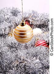 yellow christmas decoration - christmas deoration ball,...