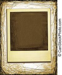 Grunge Style Polaroid