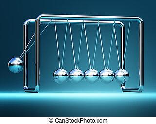 newton cradle 3d - newton cradle fine 3d image background