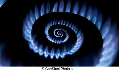 Gas Burner Droste - Energy Crisis Gas Burner Spiral Loop