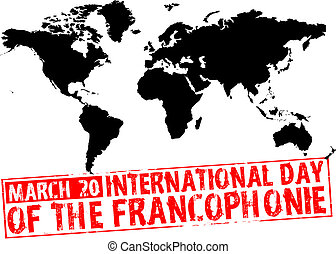march 20 - international day of the francophonie
