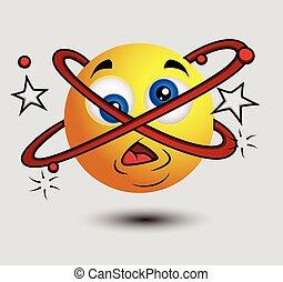 Dizzy Emoji Smiley Emoticon - Dizzy Emoji Smiley Character...