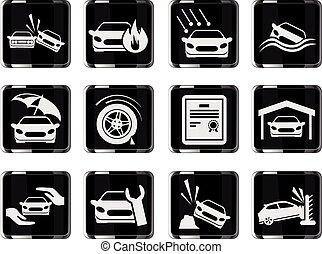 Car Insurance Icons