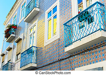 Lisbon typical architectura, Portugal