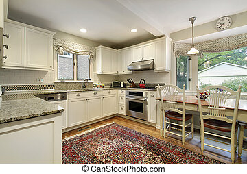 Kitchen with picture window