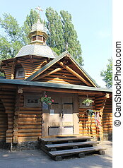 Wooden church in Kiev