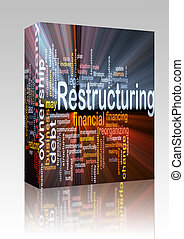 Restructuring word cloud box package box package - Software...
