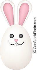 Páscoa, ovo, coelho