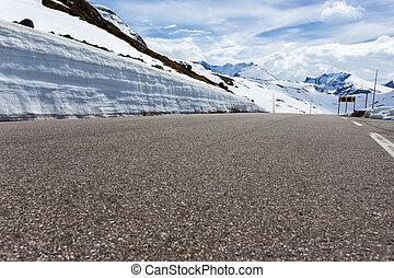 road at the norwegian mountains, Norway