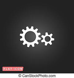 Two gears icon