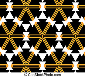 Abstract geometric wallpaper - Vector seamless pattern...
