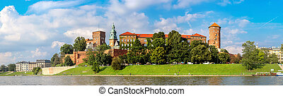 Wawel castle in Kracow - The Wawel castle in Kracow....