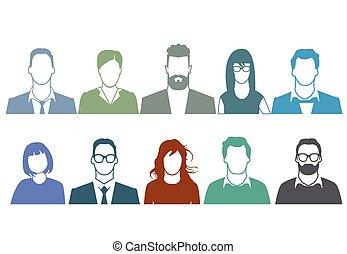 Menschen Potrait.eps - People Portrait
