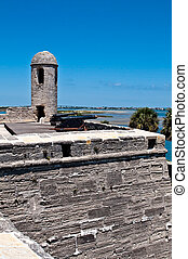 San Marcos Castle - View of the old San Marcos Castle in St....
