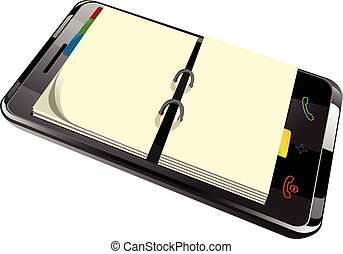 daily planner in smart phone