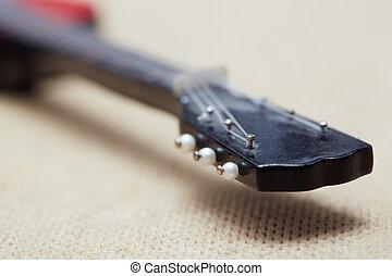acústico, guitare,