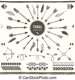 Tribal elements collection.