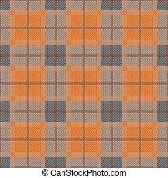 Rectangular seamless pattern in dim hues - Rectangular...