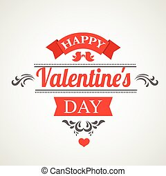 Happy Valentines Day Hand Drawing lettering design - Happy...