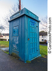 Police Public Call Box, nicknamed The Newport Tardis. - Old...