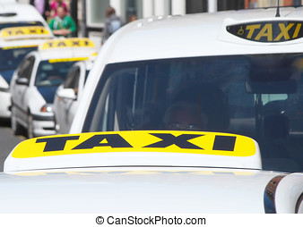 Taxi cabs