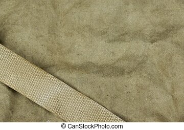 Weathered Faded Military Army Khaki Camouflage With Belt....