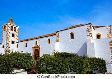 Betancuria Santa Maria church Fuerteventura at Canary...