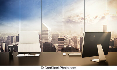 Office management - Luxurious office with with view of...