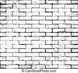 Seamless Grunge texture, Abstract Background - Brick wall...