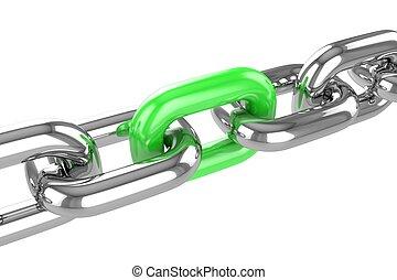 render stainless steel chain - 3d render stainless steel...