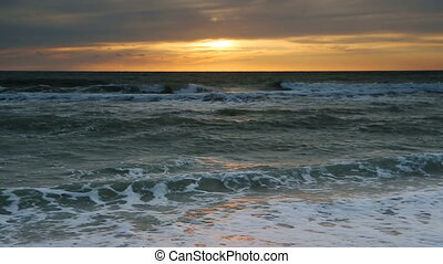 Captiva Sundown Surf Loop - Seamless seascape loop features...