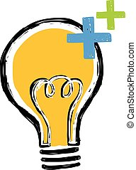 Light bulb with electric charge
