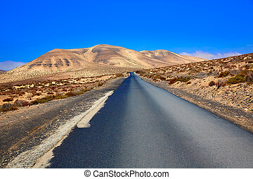 Jandia park road Fuerteventura Canary Islands - Jandia park...
