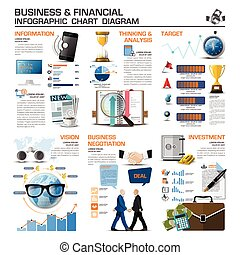 Business And Financial Infographic Chart Diagram