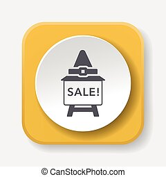 halloween sale icon