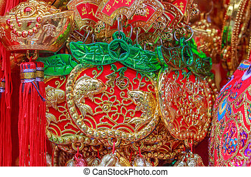 Lucky knot for Chinese New Year decoration