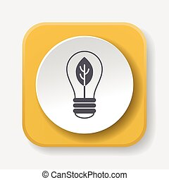 Environmental protection concept saving energy; turn off...