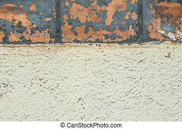 old concrete wall texture - fragment of a concrete wall,...