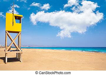 Jandia Sotavento beach Fuerteventura Canary - Jandia...