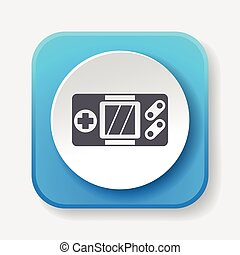 Handheld game consoles icon