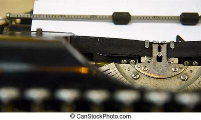 Typewriter Type Blank Sign
