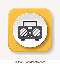 sound record icon