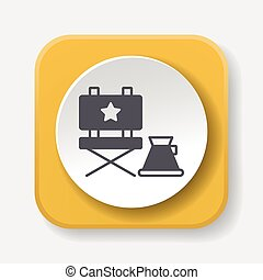 director chair icon
