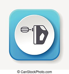 kitchenware beater icon