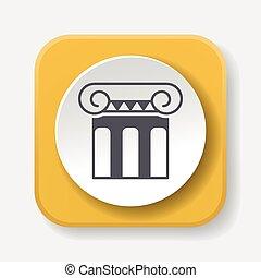 Architectural sculpture icon