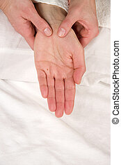 hand reflex zone massage